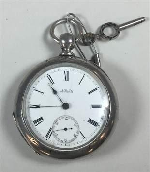 Waltham Key Wind Pocket Watch