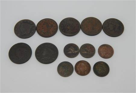 Group of Obsolete Cents