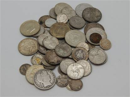 $11.80 Face Mixed 90% US Silver Coins Plus $3 Face 40%