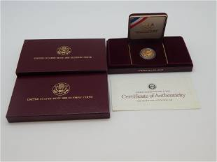 1988 Olympics $5 Gold Proof Coin