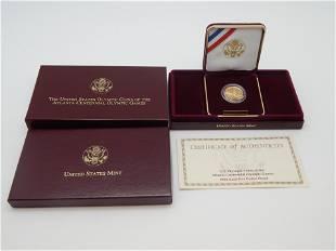 1995 US Olympics Atlanta Centennial Games $5 Gold Proof