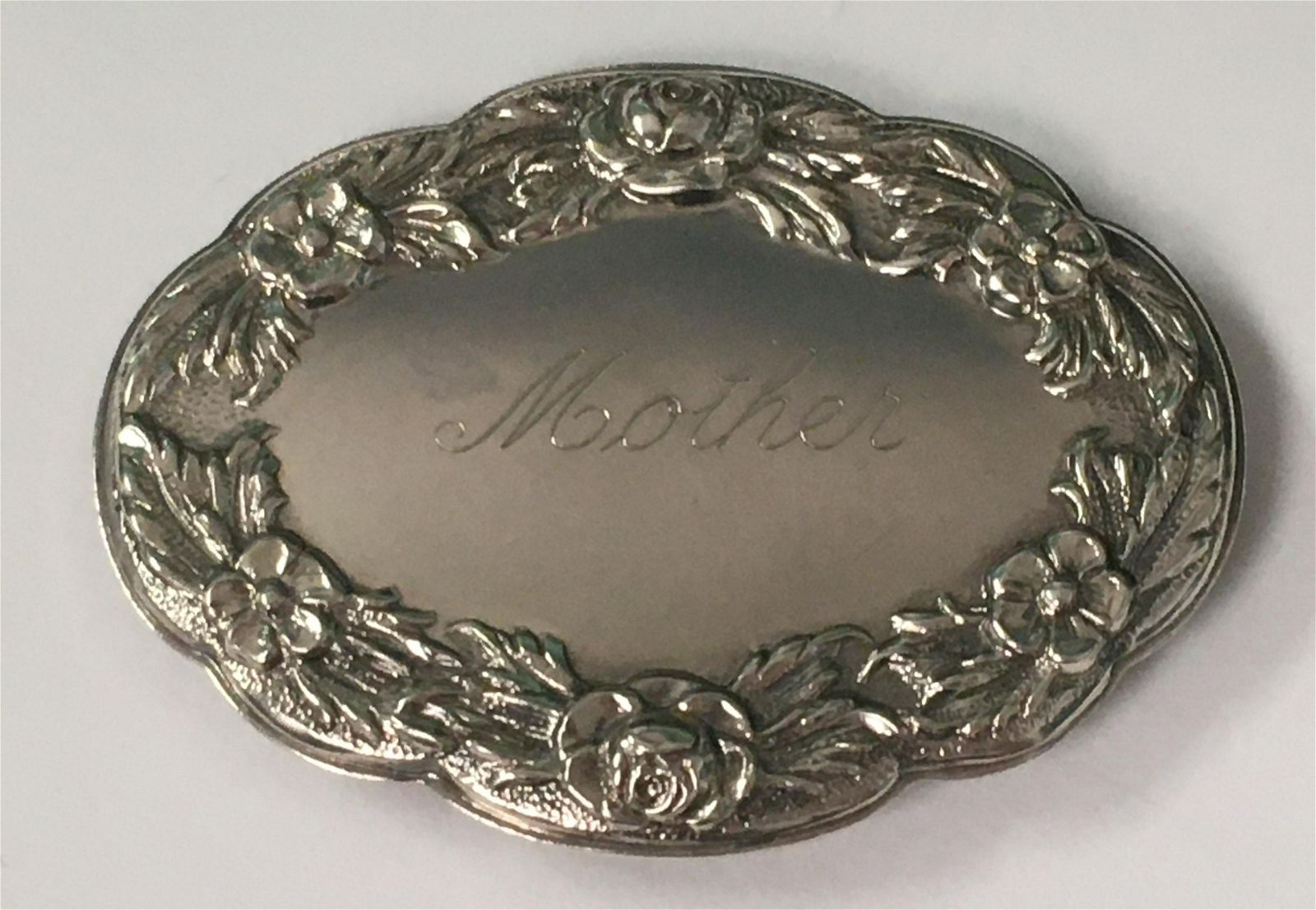 S. Kirk & Son Sterling Mother Pin