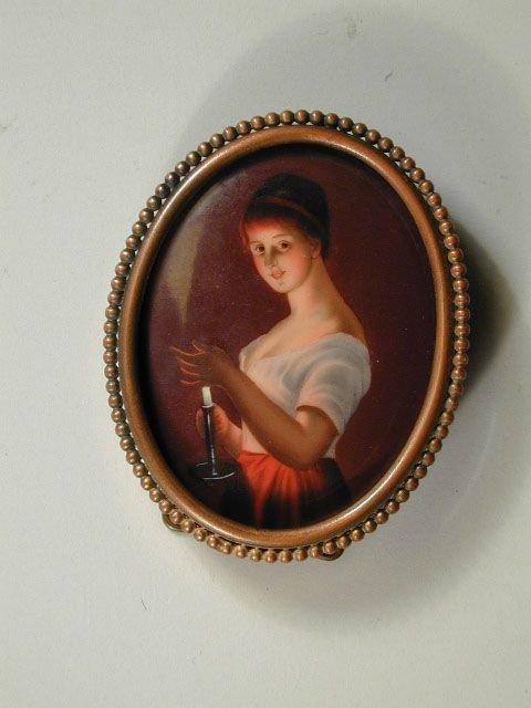 16: Production Miniature on Porcelain