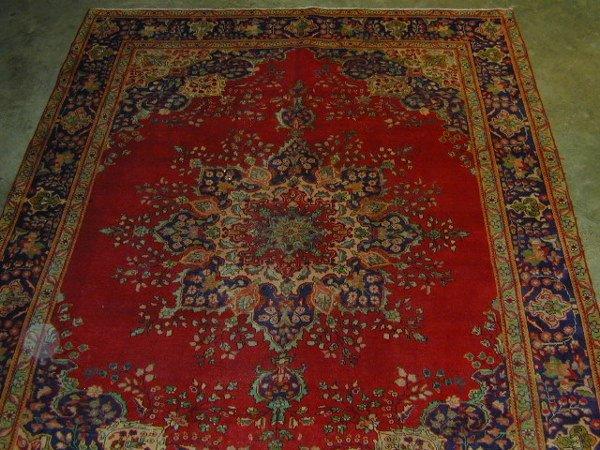 18: Tabriz Carpet
