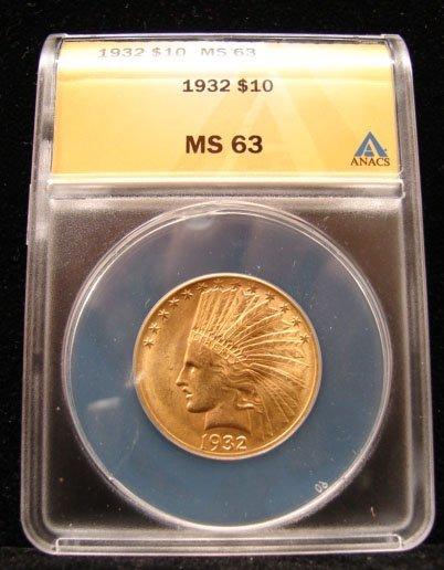 1932 Indian Gold Eagle