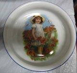 German Dish (child in Poppy field)