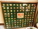 100 Centennial Coca Cola Pins
