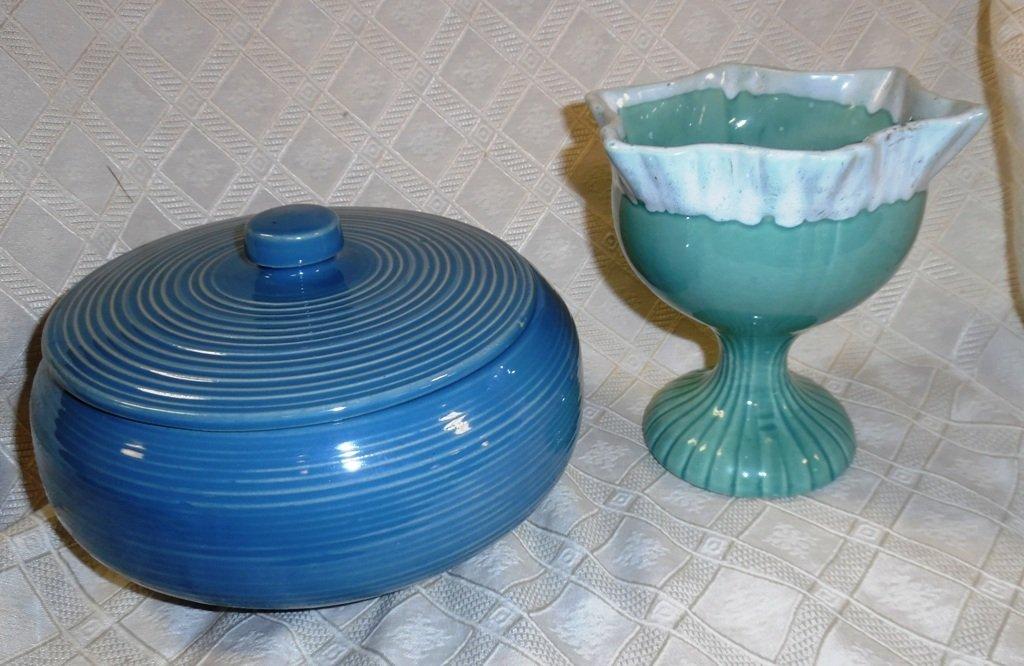 McCoy Dish & Vase