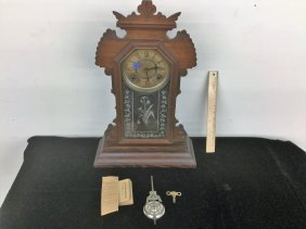 Kitchen Clock With Key