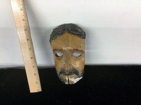 Carved Old Wood Mask
