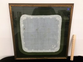 Framed Handkerchief