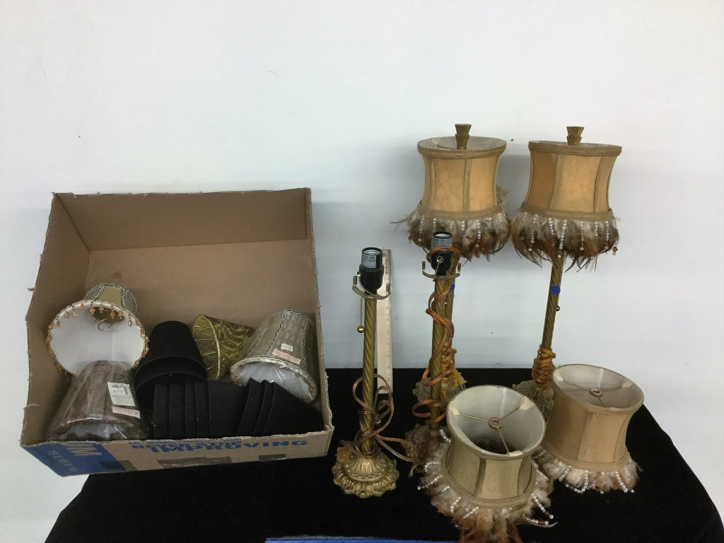 BOX MISC LAMPS/SHADES