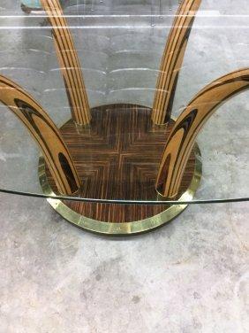 Henredon Glass Top Table