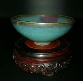 Chinese Junyao Glazed Porcelain Bowl
