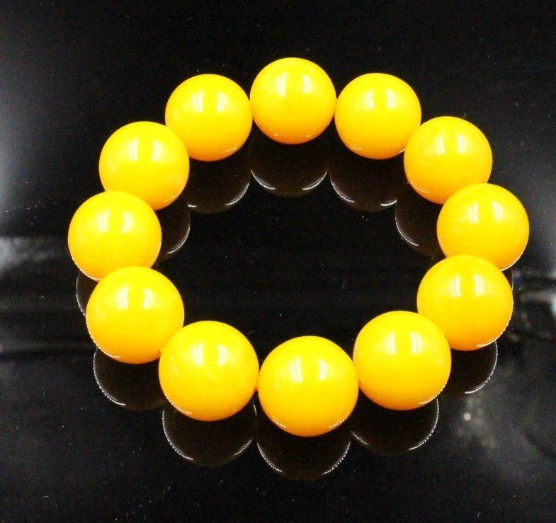 Chinese Amber Bracelet