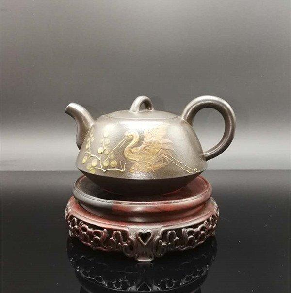 Chinese Yixing Zisha Teapot (Wu desheng)