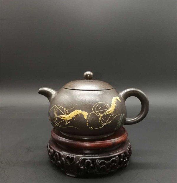 Chinese Yixing Zisha Teapot (Jiang rong)
