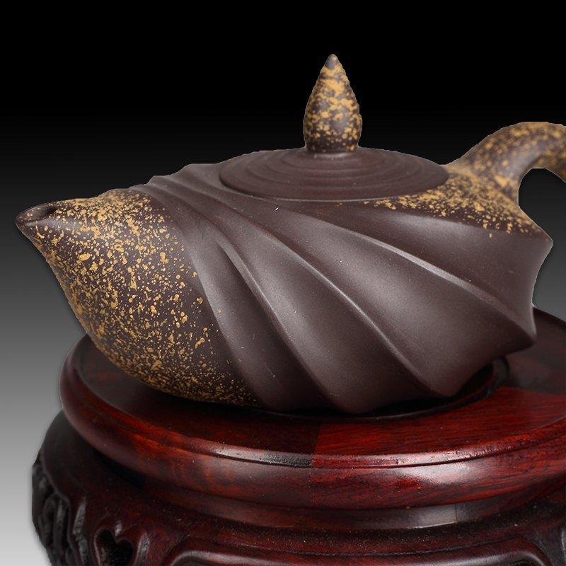 Chinese Yixing Pottery Teapot(Mark of Wang yinxian) - 3
