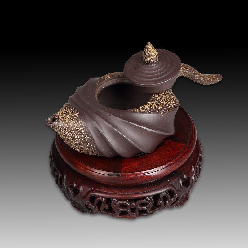 Chinese Yixing Pottery Teapot(Mark of Wang yinxian) - 4