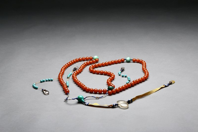 China Amber Court Necklace