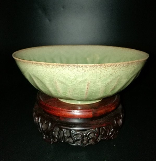 Chinese Longquan Celadon Porcelain  Bowl