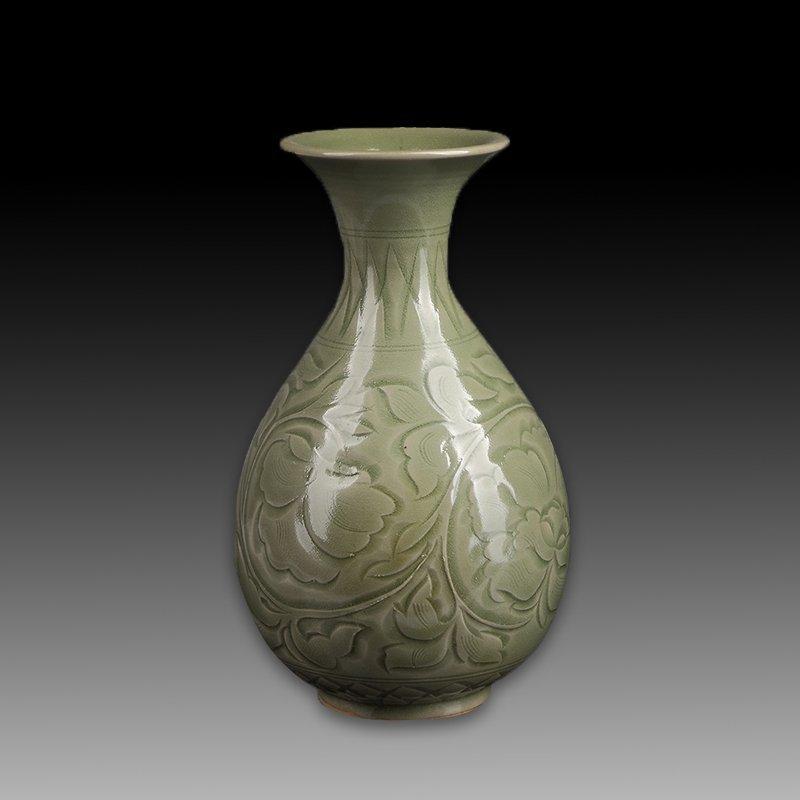 Chinese Yaozhou kiln Porcelain Vase