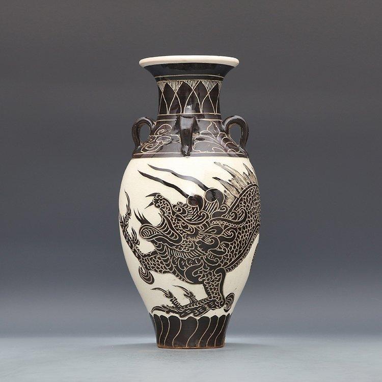 Chinese Cizhou kiln Porcelain Vase