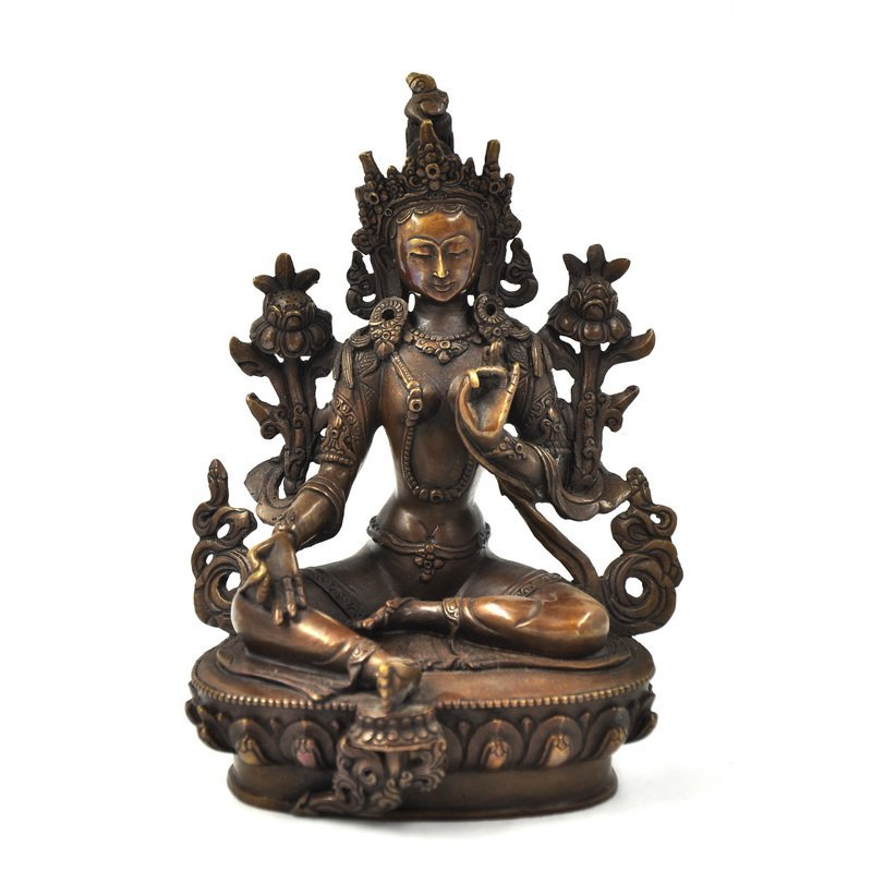 Chinese  Tibetan Bronze Buddh