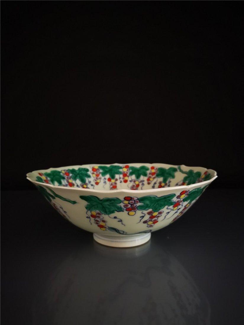Chinese Doucai Porcelain  Bowl - 5