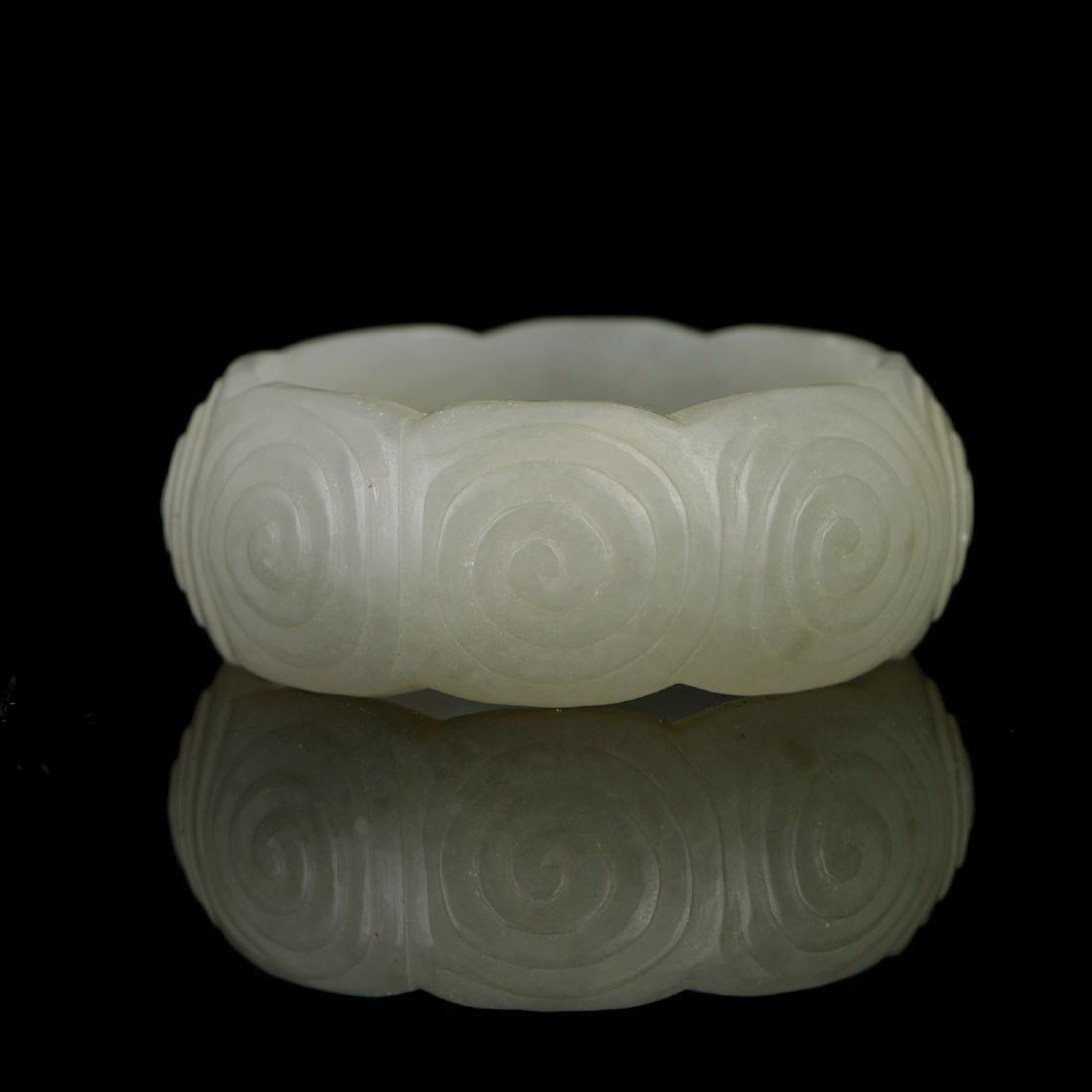 Chinese  Hetian Jade  Annular