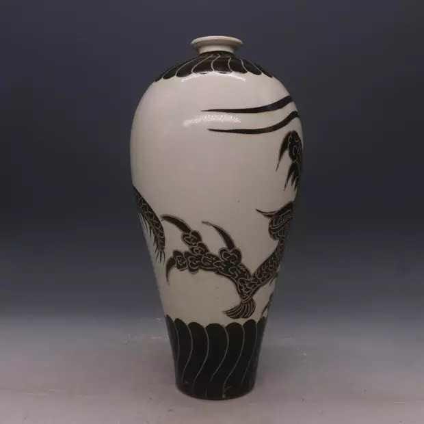 Chinese Cizhou  Kiln  Porcelain  Vase - 2
