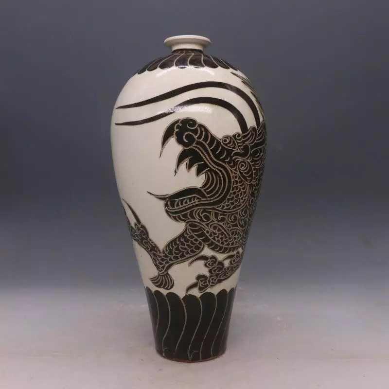 Chinese Cizhou  Kiln  Porcelain  Vase - 5