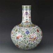 Large Chinese Doucai Porcelain Vase