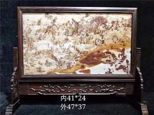 Chinese Shoushan Stone Screen