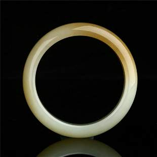 Chinese Jade Bangle Bracelet ,Have a certificate