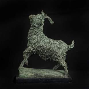 Chinese Bronze Figurine of sheep