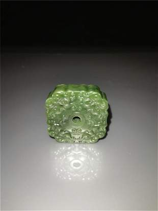 Chinese Green jade Pendant