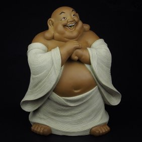 Shiwan Gongzai Congratulation Smiling Buddha