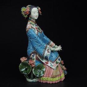 Shawan Porcelain - A Beautiful Woman