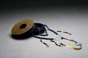 Chinese Lapis Lazuli Necklace