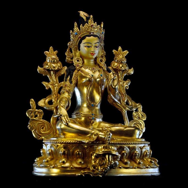 A Chinese Qing dynasty Bronze Buddha - 4