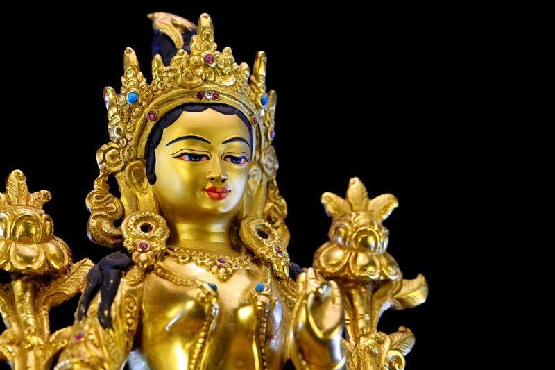 A Chinese Qing dynasty Bronze Buddha - 5