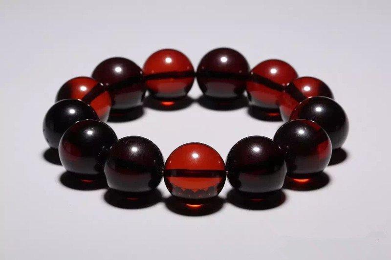 Chinese Amber Bracelet - 2