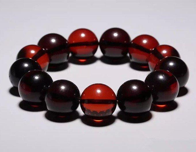 Chinese Amber Bracelet - 3