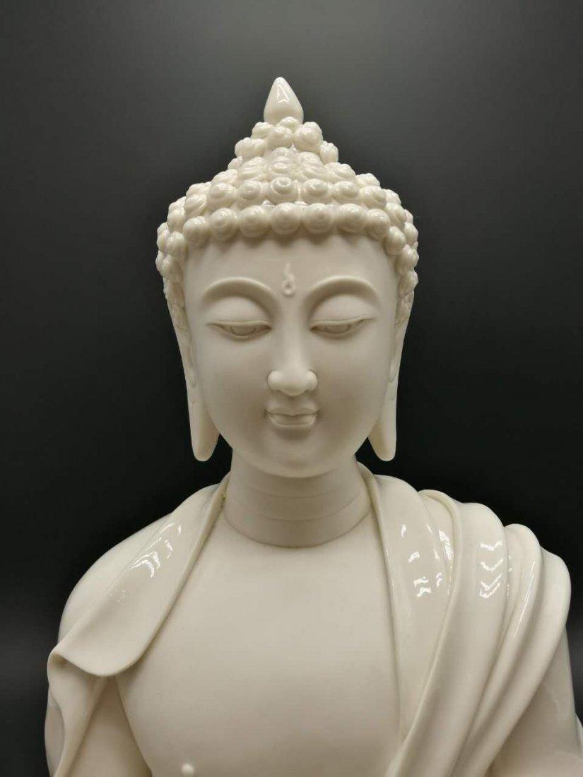 Chinese dehua Buddha figure - 2