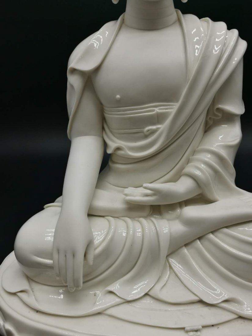 Chinese dehua Buddha figure - 3