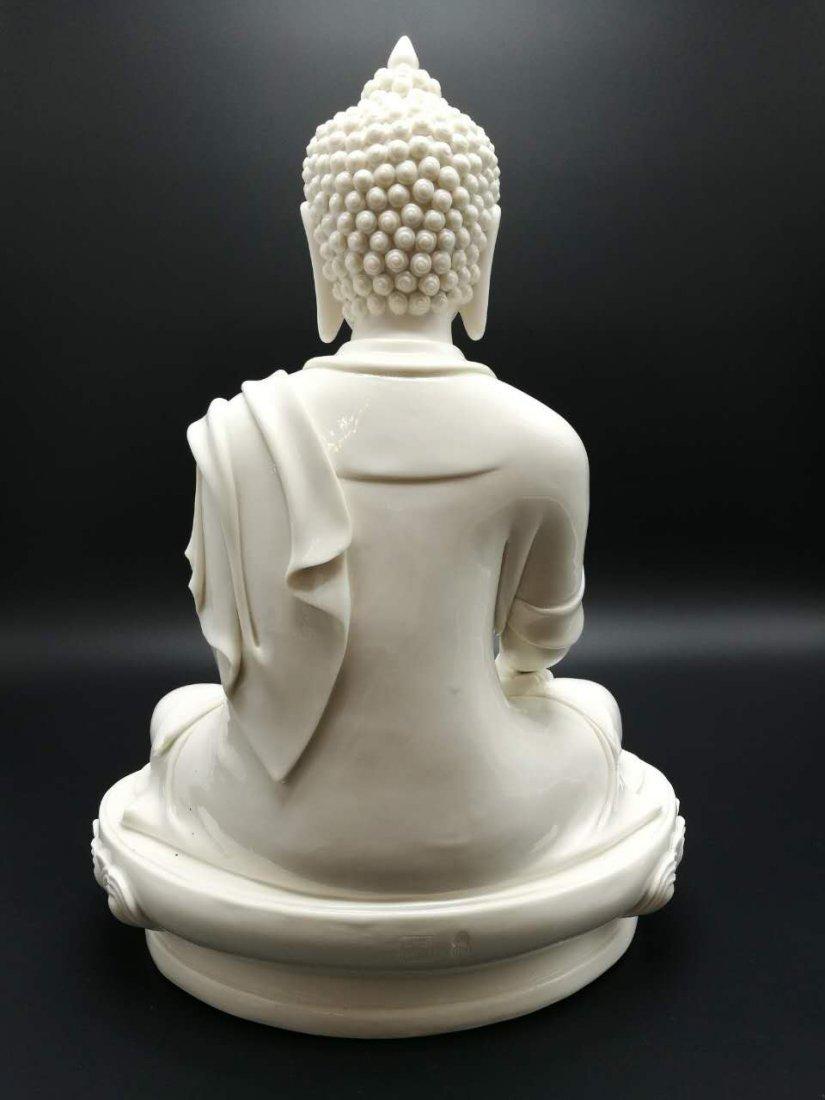 Chinese dehua Buddha figure - 4