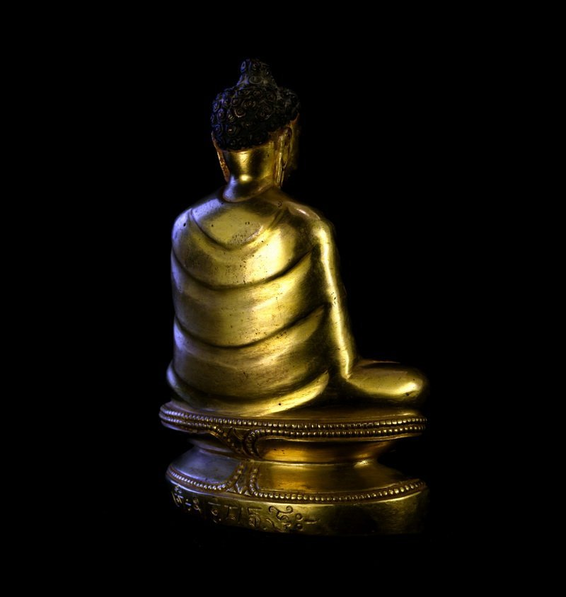 All the gold in the qing dynasty old Buddha Buddha had - 3