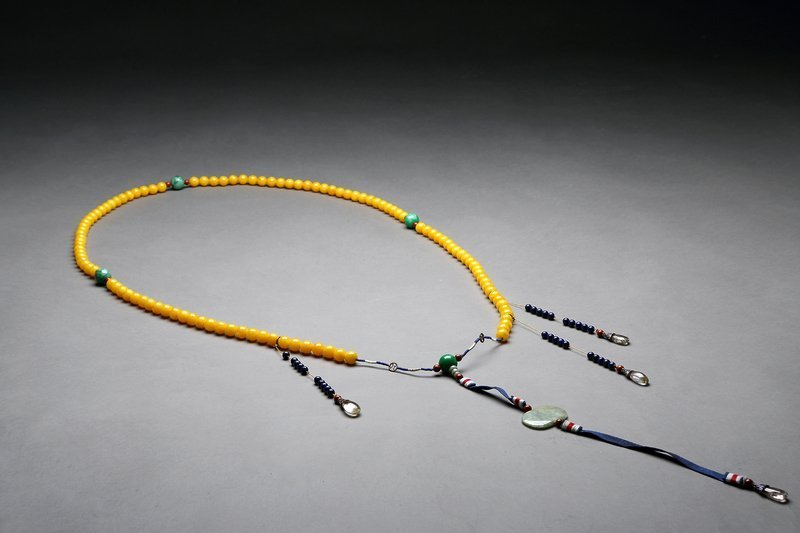 China Amber Court Necklace - 2