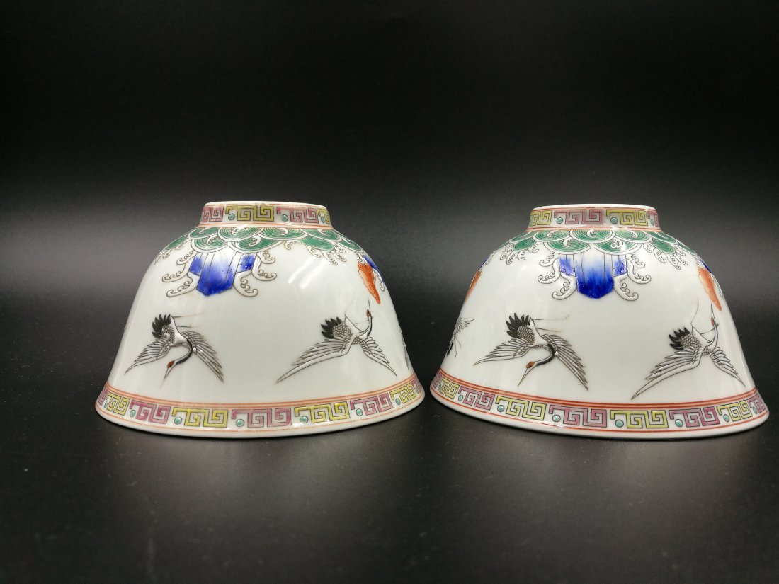 An Antique Chinese Famiile Rose Porcelain Bowl - 2